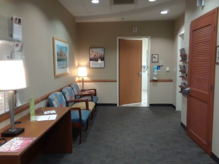 womans waiting room